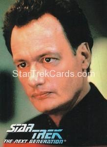 Star Trek The Next Generation Waldenbooks Trading Card Q Front