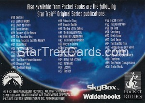 Star Trek The Next Generation Waldenbooks Trading Card Romulan Back