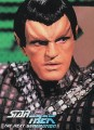 Star Trek The Next Generation Waldenbooks Trading Card Romulan Front