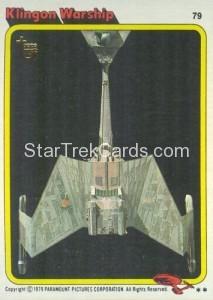 Topps 75th Anniversary Star Trek Buy Back Card 79