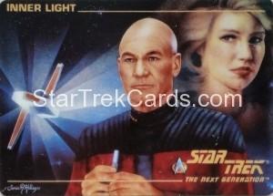 Star Trek The Next Generation Card Collection Hamilton Inner Light Front