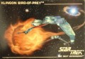 Star Trek The Next Generation Card Collection Hamilton Klingon Bird of Prey Front