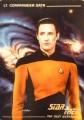 Star Trek The Next Generation Card Collection Hamilton Lieutenant Commander Data Front