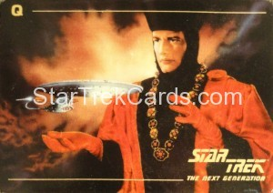 Star Trek The Next Generation Card Collection Hamilton Q Front