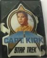 Star Trek Porcelain Cards Capt Kirk