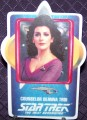 Star Trek Porcelain Cards Counselor Deanna Troi
