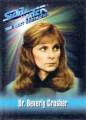 Star Trek The Next Generation Playmates Action Figure Card Dr Beverly Crusher