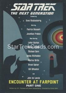 Star Trek The Next Generation Portfolio Prints Series One Trading Card 1