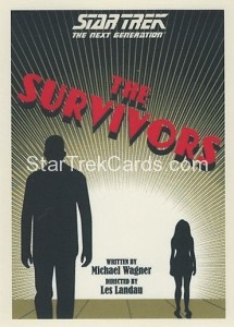 Star Trek The Next Generation Portfolio Prints Series One Trading Card 101