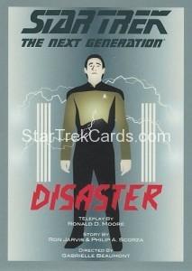 Star Trek The Next Generation Portfolio Prints Series One Trading Card 105
