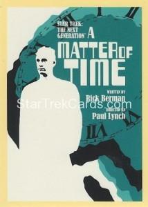 Star Trek The Next Generation Portfolio Prints Series One Trading Card 109