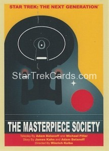 Star Trek The Next Generation Portfolio Prints Series One Trading Card 113
