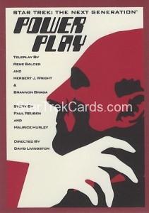 Star Trek The Next Generation Portfolio Prints Series One Trading Card 115