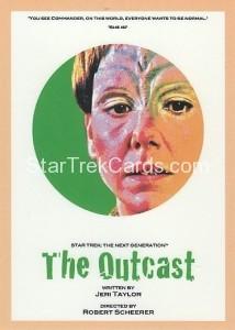 Star Trek The Next Generation Portfolio Prints Series One Trading Card 117