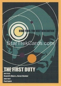 Star Trek The Next Generation Portfolio Prints Series One Trading Card 119