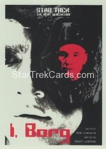 Star Trek The Next Generation Portfolio Prints Series One Trading Card 123
