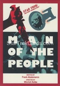 Star Trek The Next Generation Portfolio Prints Series One Trading Card 129