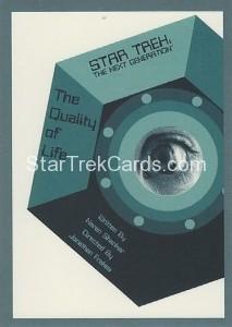Star Trek The Next Generation Portfolio Prints Series One Trading Card 135