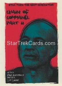 Star Trek The Next Generation Portfolio Prints Series One Trading Card 137