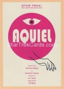Star Trek The Next Generation Portfolio Prints Series One Trading Card 139