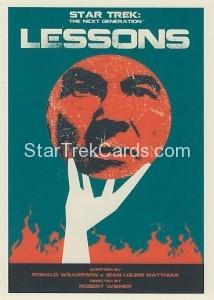 Star Trek The Next Generation Portfolio Prints Series One Trading Card 145