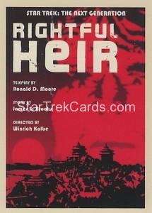 Star Trek The Next Generation Portfolio Prints Series One Trading Card 149