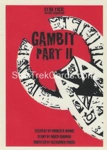 Star Trek The Next Generation Portfolio Prints Series One Trading Card 157