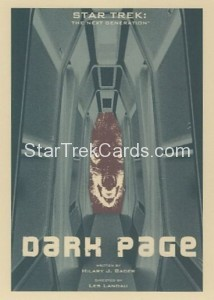 Star Trek The Next Generation Portfolio Prints Series One Trading Card 159