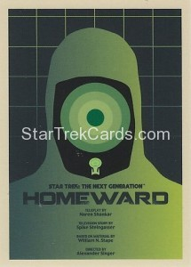 Star Trek The Next Generation Portfolio Prints Series One Trading Card 165