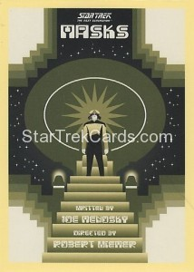Star Trek The Next Generation Portfolio Prints Series One Trading Card 169