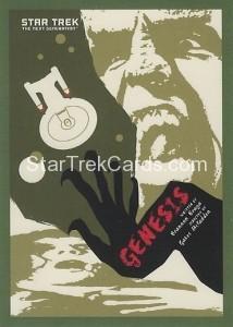 Star Trek The Next Generation Portfolio Prints Series One Trading Card 171