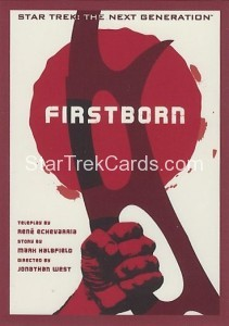 Star Trek The Next Generation Portfolio Prints Series One Trading Card 173