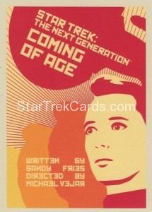 Star Trek The Next Generation Portfolio Prints Series One Trading Card 19