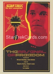 Star Trek The Next Generation Portfolio Prints Series One Trading Card 21