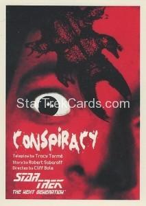 Star Trek The Next Generation Portfolio Prints Series One Trading Card 25
