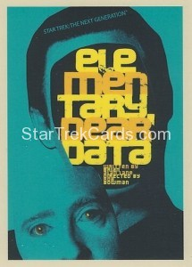Star Trek The Next Generation Portfolio Prints Series One Trading Card 29