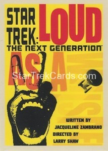 Star Trek The Next Generation Portfolio Prints Series One Trading Card 31