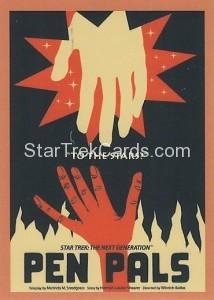 Star Trek The Next Generation Portfolio Prints Series One Trading Card 41