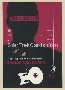 Star Trek The Next Generation Portfolio Prints Series One Trading Card 43