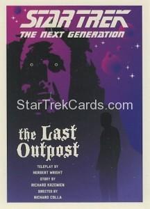 Star Trek The Next Generation Portfolio Prints Series One Trading Card 5