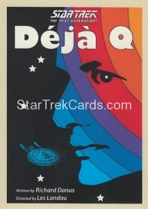 Star Trek The Next Generation Portfolio Prints Series One Trading Card 59