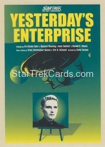 Star Trek The Next Generation Portfolio Prints Series One Trading Card 61