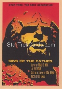 Star Trek The Next Generation Portfolio Prints Series One Trading Card 63