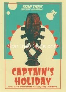 Star Trek The Next Generation Portfolio Prints Series One Trading Card 65