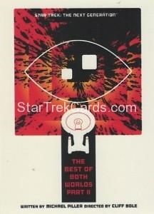 Star Trek The Next Generation Portfolio Prints Series One Trading Card 73