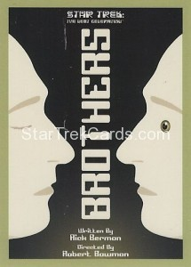 Star Trek The Next Generation Portfolio Prints Series One Trading Card 75