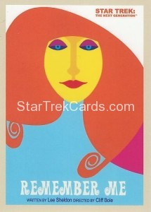 Star Trek The Next Generation Portfolio Prints Series One Trading Card 77
