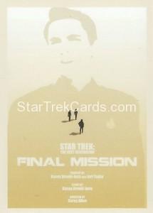 Star Trek The Next Generation Portfolio Prints Series One Trading Card 81