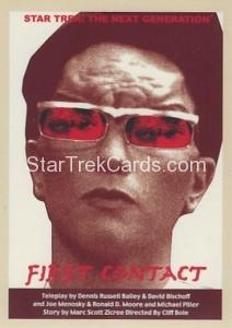 Star Trek The Next Generation Portfolio Prints Series One Trading Card 87
