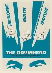 Star Trek The Next Generation Portfolio Prints Series One Trading Card 93